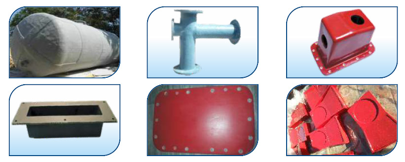 FRP Moulded Tanks & linning works